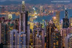 Hong Kong City at Night - http://www.mlenny.com/wp-content/uploads/52671522.jpg