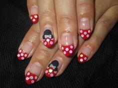 Disney nail designs | Japanese Nail design, Disney Theme Nails, Minnie Mouse Nails, 3D Art ...