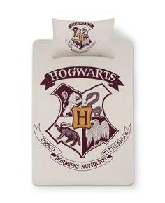 Harry Potter Hogwarts Duvet Cover Single or Double Bed