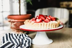 lemon curd berry tart - Binks & the Bad Housewife