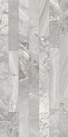Ceramica Colli - Scot Grey Scot has taken different kinds of marble veining patterns combining and mixing the images onto 6 x 36 planks to create a new and modern interpretation. Each color in this Italian inkjet glazed porcelain series includes veining patterns from various marbles within each color's range. The result is a rich mix of graphics and tones that conveys a striking effect when installed due to the multi-directional movement of the veins.