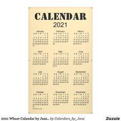 2021 Wheat Calendar by Janz Banner