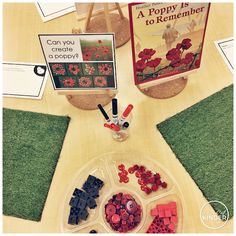 A Pinch of Kinder: Kindergarten Remembrance Day Activities - Can you create a poppy with loose parts? Remembrance Day Activities, Remembrance Day Art, Art For Kids, Crafts For Kids, Poppy Craft, Kindergarten Centers, Kindergarten Addition, Homeschool Kindergarten, Homeschooling