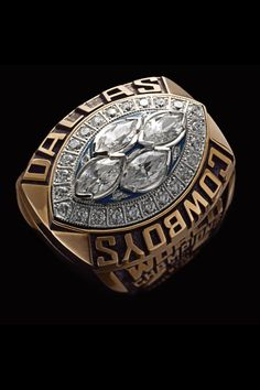 Super Bowl rings: Check out the championship bling from every winner Dallas Football, Dallas Cowboys, Super Bowl Rings, Championship Rings, Crown Jewels, Mind Blown, Class Ring, Nfl, Bling