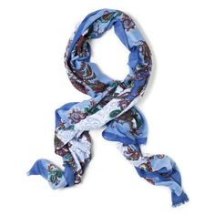 Body Candy by Gigi - Paisley design with swirls of cobalt and sky blue. $12.50 with code 50OFF. Offer ends 08/18.