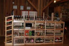 wine related gifts in the gift shop as well as local and Ohio made products. Jams, Jellies, candies, dip mixes, slushie mixes