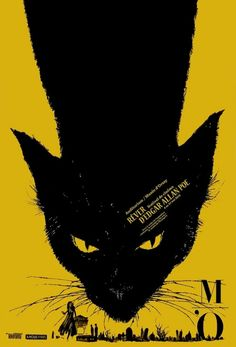 Cats in Illustration: Photo of a Poster-Brochure of the « Rêver d'Edgar Allan Poe Graphic Design Illustration, Graphic Art, Illustration Art, Plakat Design, Kunst Poster, Festival Posters, Film Festival, Festival Logo, Design Festival