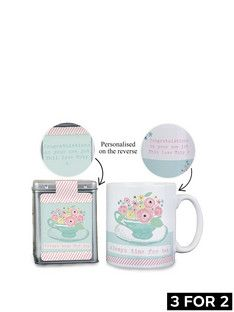 personalised-flowers-mug-amp-teabag-gift-set