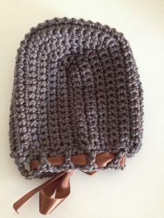 Gorro de lana tipo capota | Manualidades