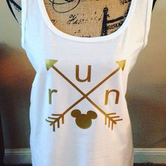 runDisney Inspired Arrow Shirt by MagicalRunConcierge on Etsy