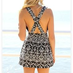 SaboSkirt Tribal Dress Never been worn! New without tags. Such a steal at this price! This dress is no longer on the SaboSkirt website! Sabo Skirt Dresses Mini