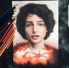 All Things Stranger — Some of the most beautiful fan art I've seen Don T Lie, Art Inspo, Cool Art, Fangirl, Tv Shows, Avatar, It Cast, Sketches, Actors