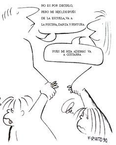 Viñetas de Frato para o cambio educativo ~ Orientación en Galicia