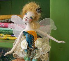OOAK Tiny Fairy Princess  Brianna Buttercup  by paulasdollhouse, $89.00  I love Paula McGee's dolls. They are so ethereal and dreamy looking.