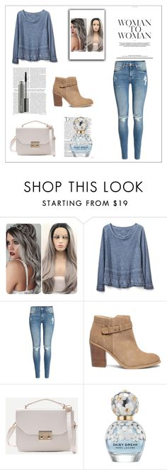 """""""I knew there was an Angel // Trapped by fear // But I'll be here"""" by zmarie2001 ❤ liked on Polyvore featuring Gap, H&M, Sole Society, Balmain, Marc Jacobs and MAC Cosmetics"""