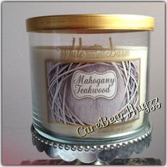 "Bath and Body Works Mahogany Teakwood candle smells like the ""perfect man"" OMG I'm obsessed"