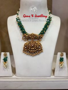 For more details please contact on 09848057089 Antique Jewellery Designs, Gold Jewellery Design, Bead Jewellery, Beaded Jewelry, Wedding Jewelry, Diamond Jewellery, Gold Wedding, Wedding Accessories, Wedding Hair