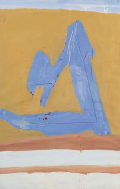 'Summertime in Italy no. 3' (1960) by Robert Motherwell