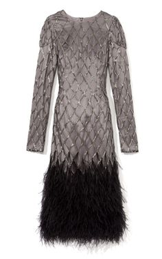 Antique Bugle Beaded Cocktail Dress by Bibhu Mohapatra - how Great Gatsby-ish!
