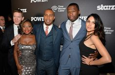 Naturi Naughton Omari Hardwick Photos - 'Power' Premieres in NYC - Zimbio