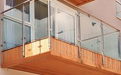 side mounted glass balustrade - Google Search Glass Balustrade, Timber Deck, Canopy, Swimming Pools, Divider, Pool Ideas, Room, Channel, Furniture