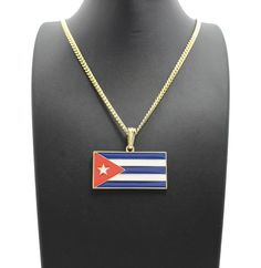 Item specifics     Condition:        New with tags: A brand-new, unused, and unworn item (including handmade items) in the original packaging (such as    ... - https://lastreviews.net/fashion/womens/jewelry/new-cuba-flag-pendant-24-box-cuban-rope-chain-hip-hop-necklace-xtp61/