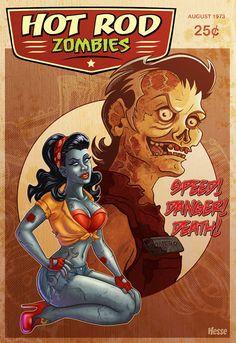 Hot Rod Zombies