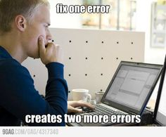 Programming Errors, so sad I understand this joke