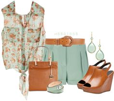 """Mint Julep"" by mssgibbs on Polyvore"