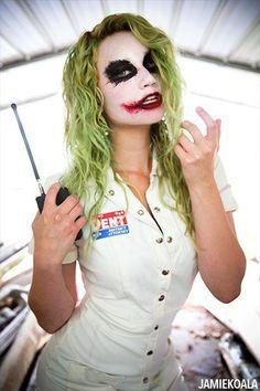 Halloween Kostüm Joker, Halloween Costumes Women Scary, Halloween Makeup Looks, Halloween 2019, Halloween Cosplay, Cute Halloween, Halloween Outfits, Costumes For Women, Diy Costumes