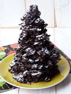 Chic, chic, chocolat...: Sapin en chocolat # cadeaux gourmands