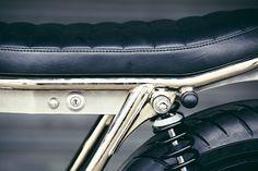 Tremendous Kawasaki W650 Cafe Racer by Clutch Custom Motorcycles #caferacer #motorcycles #motos | caferacerpasion.com