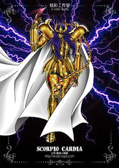 Kardia - Gold Saint Scorpio.