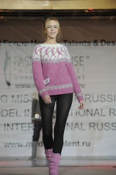 Special for Eileen Lopapeysa Sweater Running Hares by violasdesign, $270.00