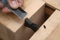 Butterflies and Bevel Top Dovetails - The Woodworkers Institute