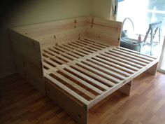 Pull Out Sofa Bed Building Ideas Pinterest Diy Sofa