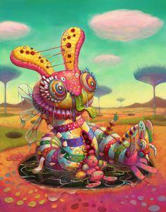 Happy World by Yoko d'Holbachie