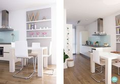 keuken zonder bovenkastjes - Google zoeken