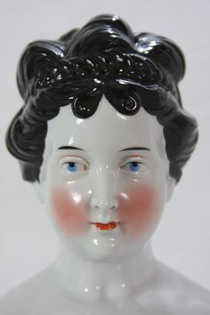 Antique RARE German China Head Doll C1890 | eBay
