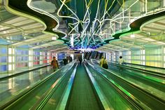 """Aeroporto Internacional O'Hare"". # Chicago, Illinois. USA."