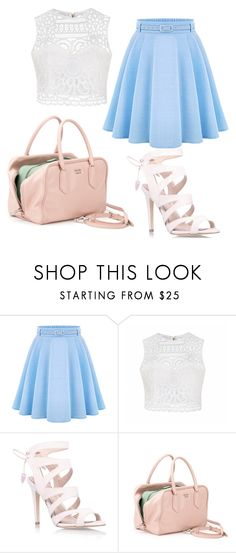 """Self-esteem"" by adelaiai on Polyvore featuring Ally Fashion, Miss KG and Prada"