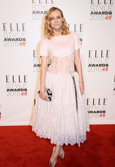 What Would the Elle Style Awards Be Without Some Killer Outfits?: You would think that after the Oscars and two whole Fashion Weeks, the stars (not to mention their stylists) would be a bit tired, ready to retire those sexy, low-cut dresses for a pair of jazzed-up joggers or something more relaxed.