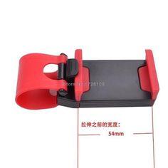 Car Steering Wheel Phone Socket Holder for Xiaomi Mi5 Mi5S Plus For Redmi Note 4 3 Pro For iPhone 7 6S Plus P9 Lite M3S Mini