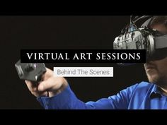 Virtual Art Sessions is a new Chrome Experiment in virtual reality art, made with Tilt Brush. We partnered with six world-renowned artists, bringing them Augmented Virtual Reality, Virtual Reality Videos, Virtual Art, Light Painting, Artist Painting, Information Age, Experiential, New Media, Public Art