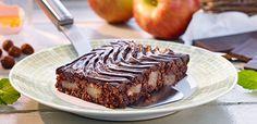 Rezept Apfelschnitten mit Schokoladenglasur