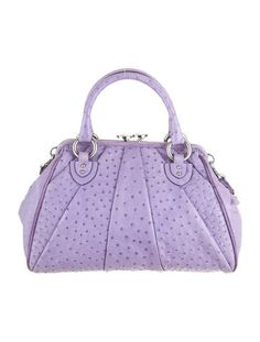 Marc Jacobs Ostrich Stam Bag