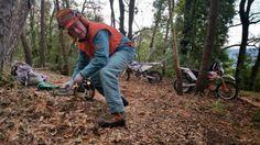 Bruno gibt alles um unseren Gästen den bestmöglichen Trail-Service zu bieten! Stress, Make It Happen, Psychological Stress