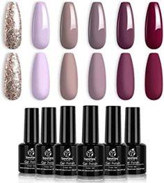 best professional gel nail polish brands best professional gel nail polish brands Gel Nail Kit, Gel Nail Polish Set, Gel Polish Colors, Gel Manicure, Nail Polishes, Polish Nails, Nail Colors, Ongles Gel Violet, Purple Gel Nails