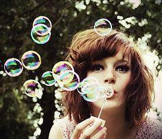 photo of woman blowing bubbles Fotografia Bokeh, Photographie Bokeh, Blowing Bubbles, Bokeh Photography, Portrait Photography, Photography Ideas, Levitation Photography, Exposure Photography, Winter Photography