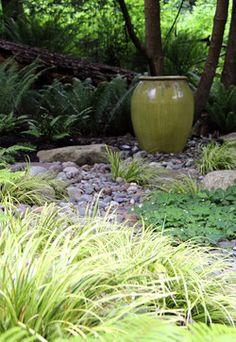 Lytle Road, Bainbridge Island - Shaded Creek - contemporary - Landscape - Seattle - Bliss Garden Design